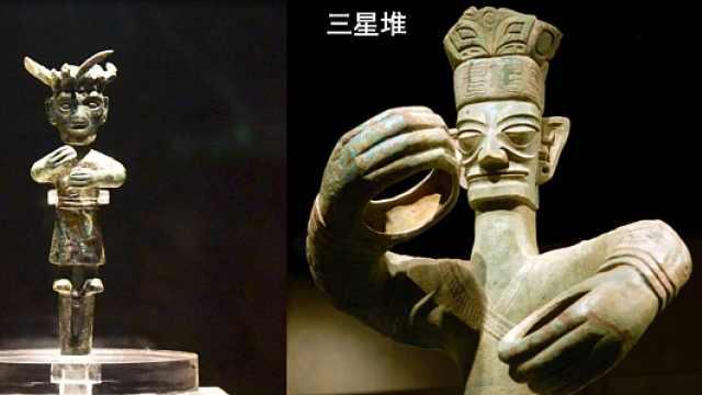 探访太阳神鸟对话成都祖先—铜立人
