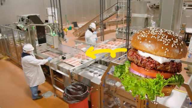 探访人造肉工厂:大豆怎么变