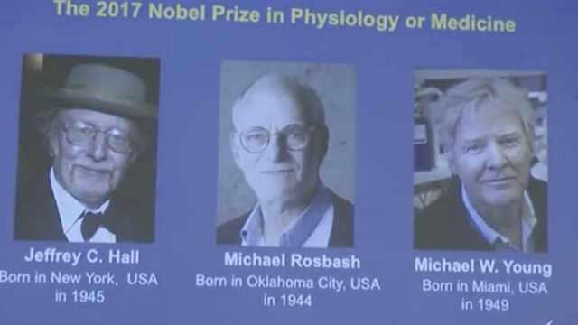 诺贝尔生理学或医学奖获奖名单出炉