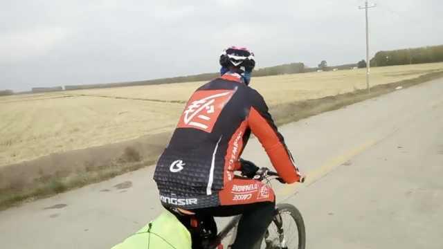 他骑游黑龙江,6天700km到中俄边境