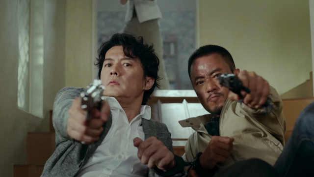 两大男神枪战!暴力的吴宇森回来了