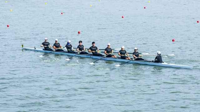 决战玄武湖,中国赛艇大师赛南京站