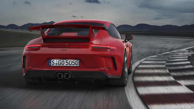 为赛道优化的保时捷911,名为GT3