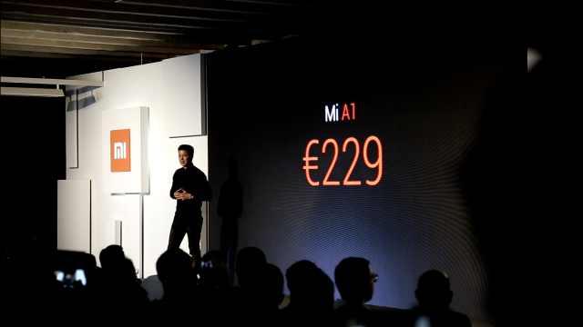 小米登陆西班牙,发布全面屏MIX2