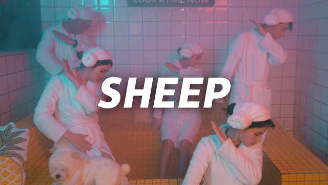 张艺兴新单《sheep》美女编舞