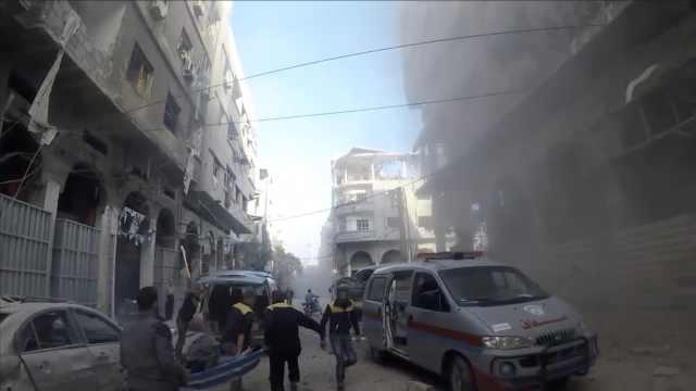 叙首都东郊空袭23死,他回忆惨状…