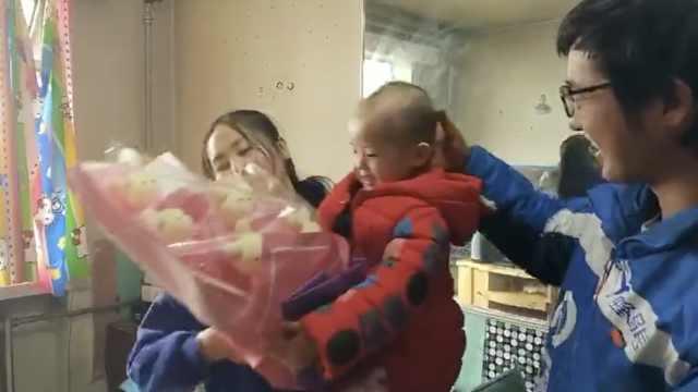 外卖哥女儿患白血病,骑手募捐相助