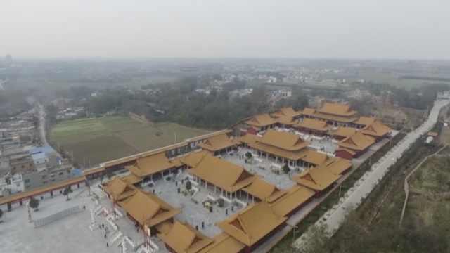 这座祠堂建得堪比皇宫,耗资1.2亿