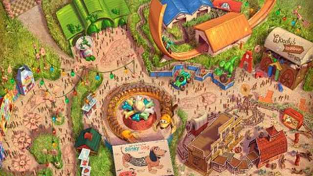 玩具总动员!迪士尼新园区明年开放