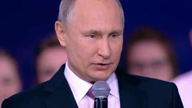 普京确定明年参选总统:将富民强国