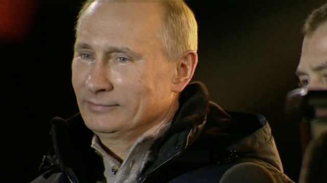 俄民众称普京能连任,其他人像陪练