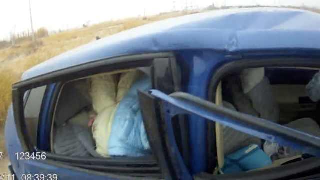 惨!为避让逆行车,女司机车毁人亡