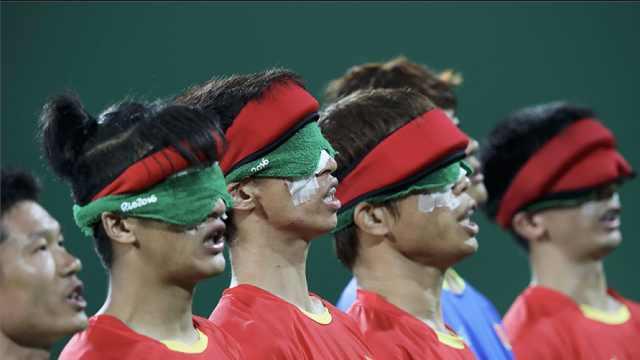 中国足球荣光!盲足第五次称雄亚洲