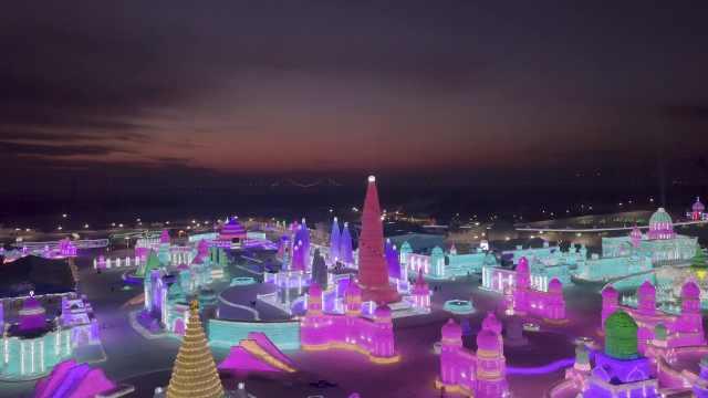27秒航拍!来感受童话中的冰雪世界