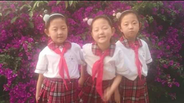 母亲提前20年为三胞胎女儿送祝福