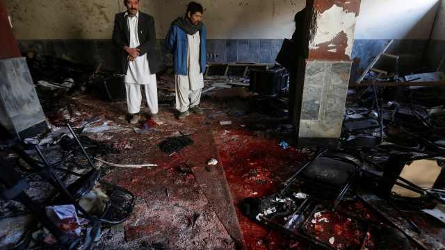 阿富汗媒体疑遭IS袭击,41人死亡