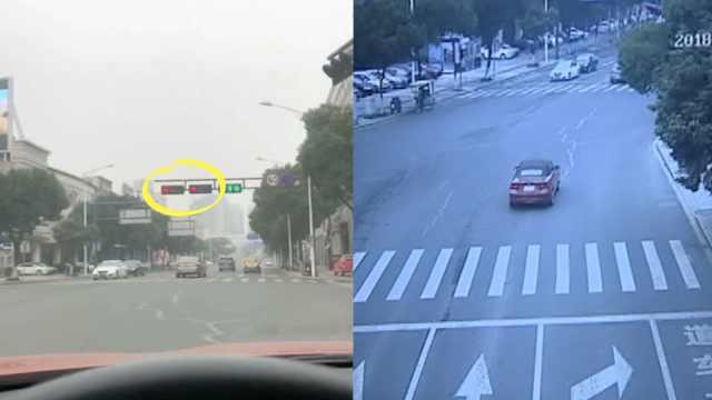 宝马2分钟闯4红灯,司机拍视频炫耀
