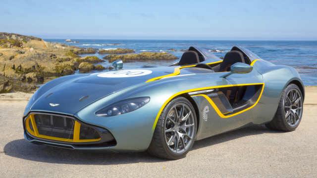 阿斯顿马丁一百岁时推出的概念车