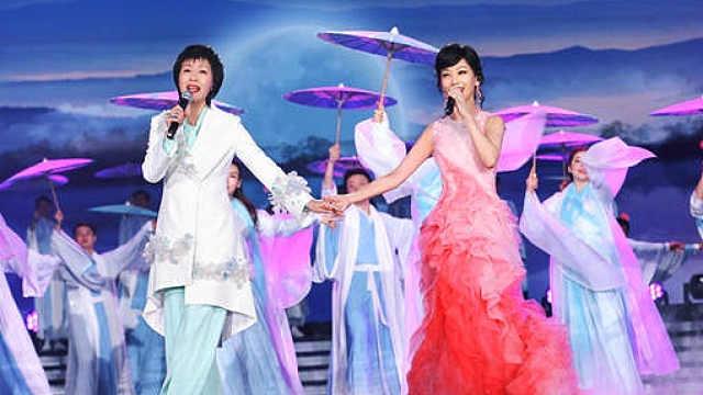 赵雅芝叶童同台合唱《千年等一回》