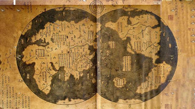 古代没卫星,是如何绘制地图的?
