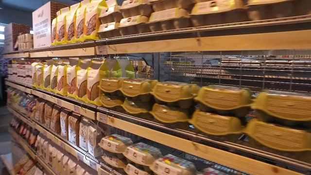 环保!全球首家无塑料包装超市运营