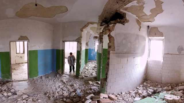 探访苏联废弃军事基地,现一片废墟