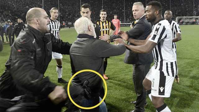 暴力事件频发!希腊暂停足球联赛