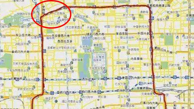 为什么北京城的城墙没有西北角?