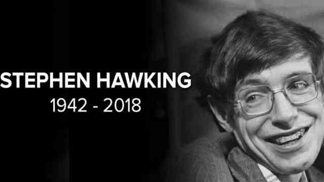 霍金逝世:轮椅太小但宇宙恰好够大