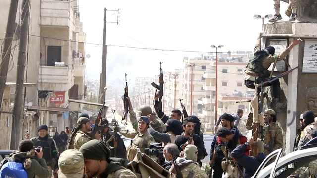 枪声震天,土耳其军队占领叙阿夫林