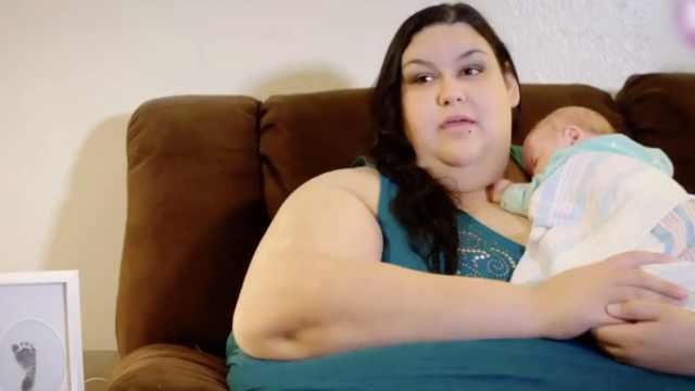 超重夫妇为生孩子,狂减200多斤