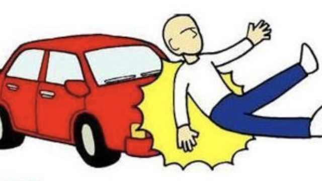 抄近路回家,男子横穿马路被车撞亡