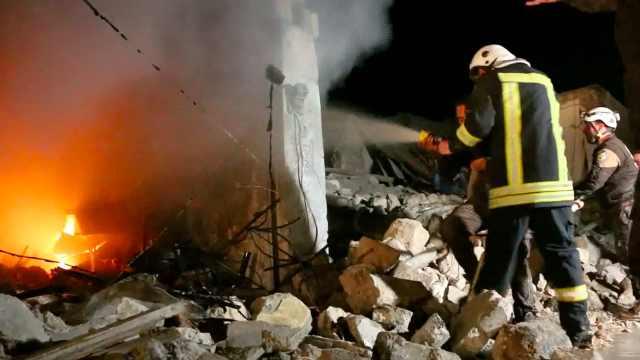 叙频遭空袭,16名孩子在学校被炸死