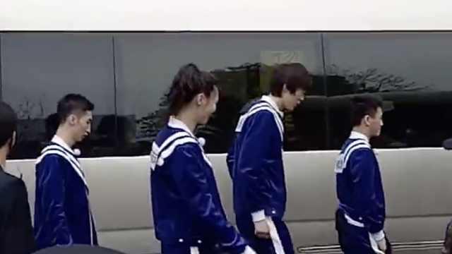 跑男杭州录制,惠若琪武大靖现身