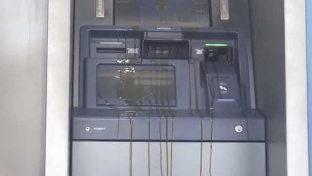 ATM机频遭黑手,银行10秒损失10万