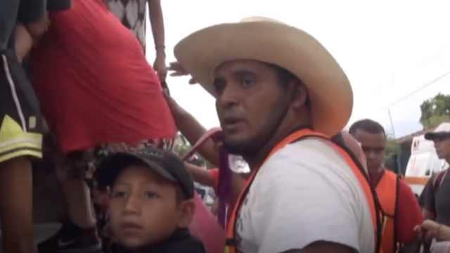 中美洲移民:川普,你可有点良心吧