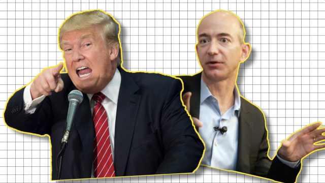 川普与全球首富开战:一周4怼亚马逊