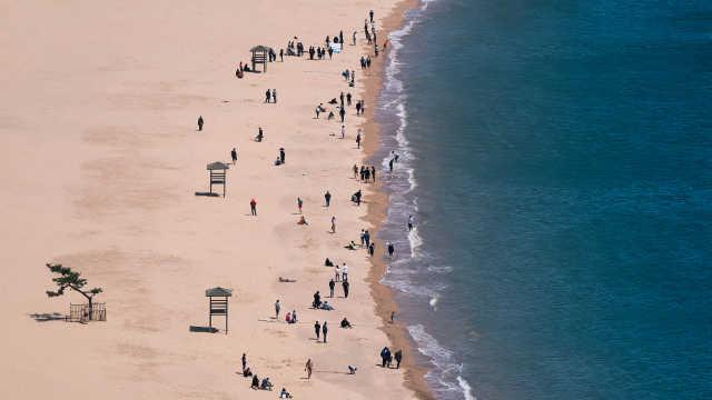 清明假期,青岛接待游客417万