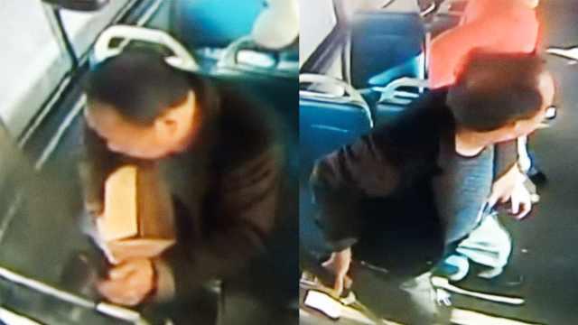 老汉2年攒4万8藏纸箱,乘车时遗落