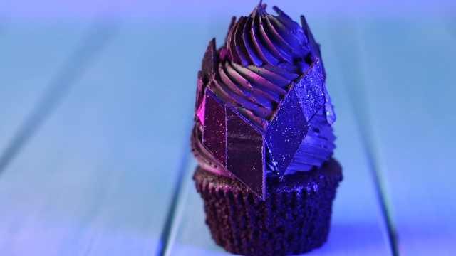 巧克力蛋糕杯,有点妖异的甜品!