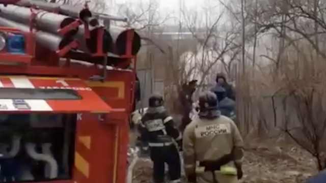 俄罗斯一架米-8坠毁,机上6人遇难