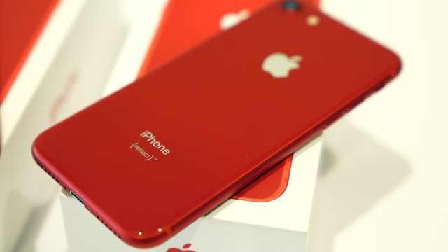 实拍:新版iPhone8真机有多红?