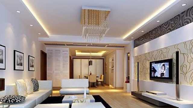 客厅吊顶装修学问多,必看设计原则