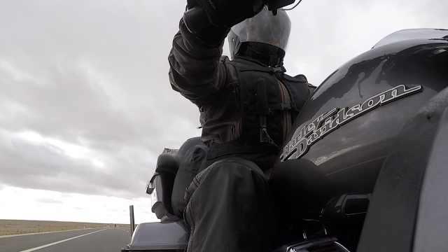 哈雷男5萬元走全國,邊境騎行4個月