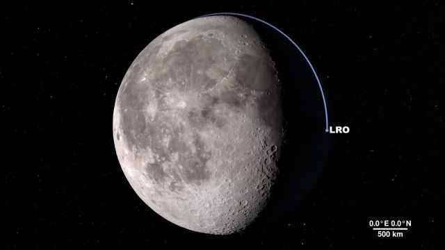 NASA探测器发布最美最清晰的月球