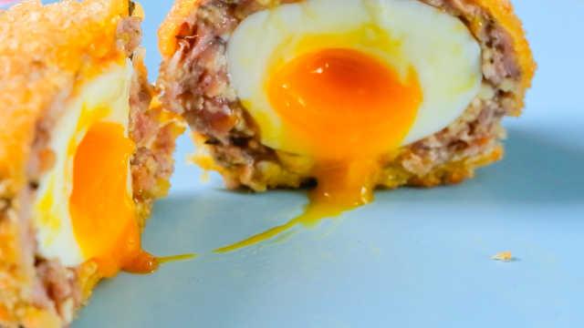 网红流心鸡蛋配方大公开,好好吃!