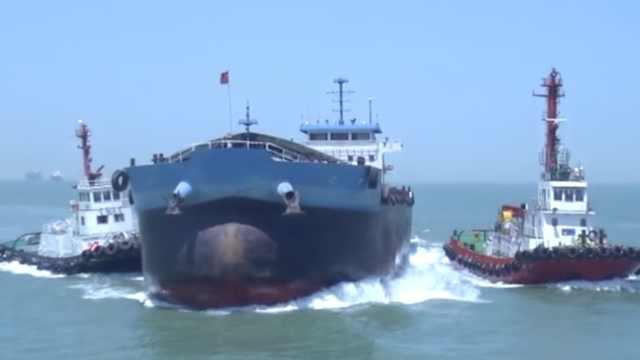 套牌船狂逃窜25海里,5船围堵4小时