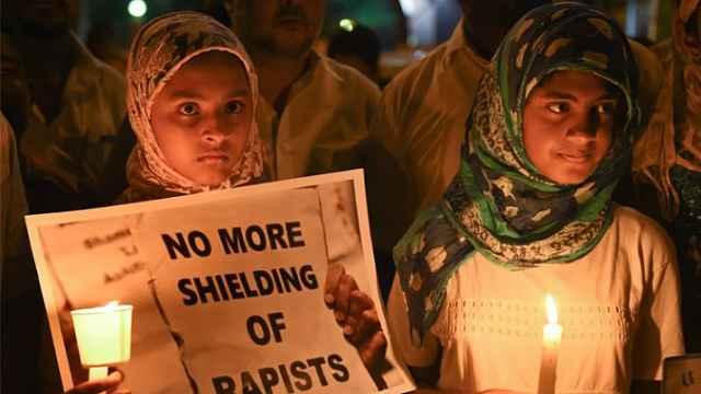 印度修法:强奸12岁以下儿童可死刑