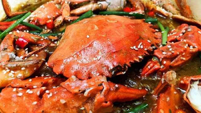 红遍大江南北的咖喱肉蟹煲