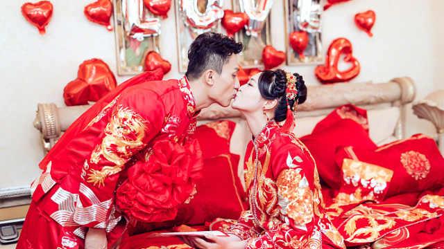 甜蜜!惠若琪大婚,老公:不要零花钱